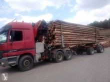 Mercedes timber tractor-trailer Actros 3348