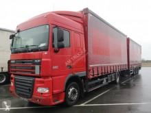 达夫XF105半挂牵引车 460 侧边滑动门(厢式货车) 其他箱式货车 二手