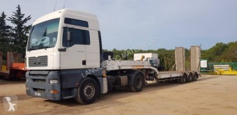 MAN TGA 18.460 tractor-trailer used heavy equipment transport