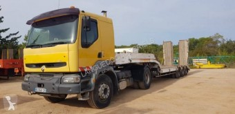Renault heavy equipment transport tractor-trailer Kerax 420