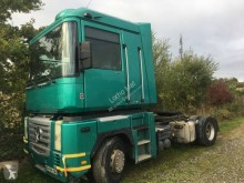 Renault Magnum 480 tractor-trailer used dropside flatbed