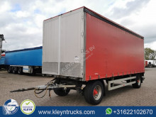 LANZ MARTI bpw trailer used tautliner