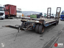 Aanhangwagen 3 axles// trailer used heavy equipment transport