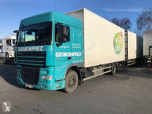 Ensemble routier fourgon DAF XF105 FA 410