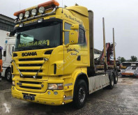 Scania R 500 tractor-trailer used timber