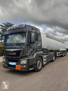MAN TGS 18.480 tractor-trailer used oil/fuel tanker