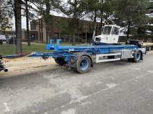 CONTAINER CHASSIS / PORTE CONTAINER / ABROLLANHANGER --- BELGISCHE PAPIEREN / PAPIERS BELGES - +/- 6m50 trailer new container