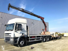DAF CF85 460 tractor-trailer used flatbed