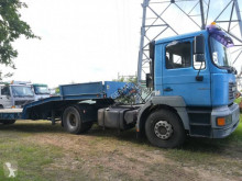 MAN heavy equipment transport tractor-trailer FE 360