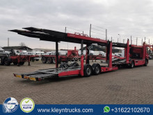 Vrachtwagen met aanhanger autotransporter CARTRANSPORTER 9 CAR