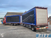 Vrachtwagen met aanhanger 2014 pluimvee aanhanger icm 2014 FH 460 pluimvee combi 28WLHB-57BFB8 tweedehands Schuifzeilen