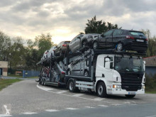 Scania P 440 tractor-trailer used car carrier