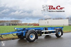 Groenewegen container trailer 20 CCA 9 9 - BPW AXLES - DRUM BRAKES - GOOD CONDITION -