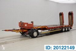 Robuste Kaiser Low bed trailer trailer used heavy equipment transport