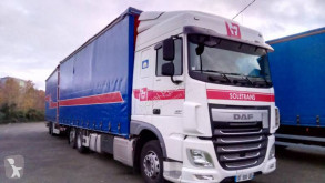 DAF XF105 460 tractor-trailer used other Tautliner tautliner