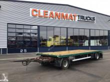 Heavy equipment transport trailer ZPS 181 met oprijplaten