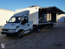 Iveco plywood box tractor-trailer Daily 35C17