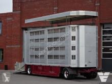 Aanhanger veewagen voor runderen 4 Stock Livestock trailer