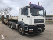 MAN heavy equipment transport tractor-trailer TGA 33.480