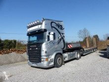 Ensemble routier Scania R 620 porte engins occasion