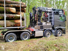 Mercedes timber tractor-trailer Arocs