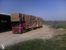 Volvo FM12 420 tractor-trailer used straw carrier flatbed