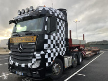Ensemble routier Mercedes Actros 2551 L porte engins occasion