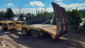 Draco Semi dieplader trailer used heavy equipment transport