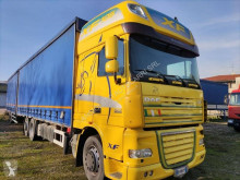 DAF XF105 410 tractor-trailer used tautliner
