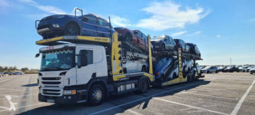Scania car carrier tractor-trailer P 410