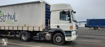 DAF CF85 460 tractor-trailer used tautliner