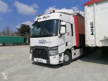Renault T460 tractor-trailer used tautliner