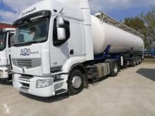 Zestaw drogowy cysterna materiał sproszkowany Renault Premium 460 DXI