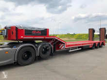 Heavy equipment transport tractor-trailer GVN Trailer GVN3 56 Ton Tri/A Lowboy