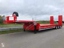 Heavy equipment transport semi-trailer 100 Ton HEAVY DUTY lowbed trailer (3 axle with tandem 3.60 m)