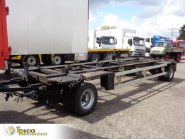 Aanhanger Jumbo MV 200 + tweedehands containersysteem