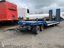 ASD-40-22 - FULL STEEL + HYDRAULISCHE KLEPPEN trailer used heavy equipment transport