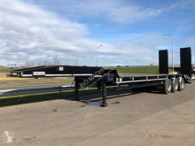 Heavy equipment transport semi-trailer LW3 60 Ton 3 m Hydraulic ramps