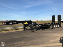 Heavy equipment transport tractor-trailer LW4 80 Ton, 3 m, steel susp., hydr. ramps
