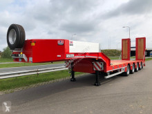 Heavy equipment transport semi-trailer LW4 with hydraulic foldable ramps EU specs 49.5 Ton