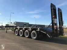 Heavy equipment transport semi-trailer LW4 80 Ton, 3 m, steel susp., hydr. ramps