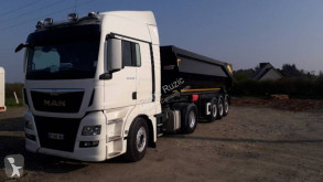 MAN TGX 18.480 tractor-trailer used half-pipe