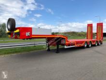 Semitrailer OZS-L4 extendable, wheel recess maskinbärare ny