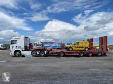 Conjunto rodoviário Scania R 580 porta máquinas usado