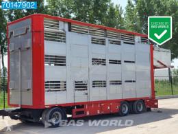 Remorque bétaillère bovins Berdex Loaded Movable Decks / Hydro. Roof