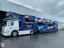 Ensemble routier porte voitures Scania P 440