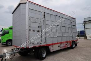 Remolque Pezzaioli RBA22 remolque ganadero para ganado bovino usado
