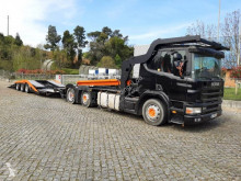Ensemble routier Scania P124 420 porte voitures occasion