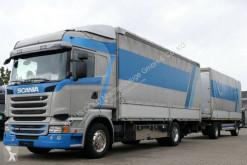 Scania sliding tarp system tarp tractor-trailer R 450