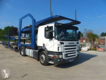 Scania car carrier tractor-trailer P 420